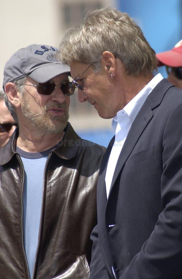 De Doorwaadbare plaats van Harrison, Steven Spielberg stock afbeeldingen