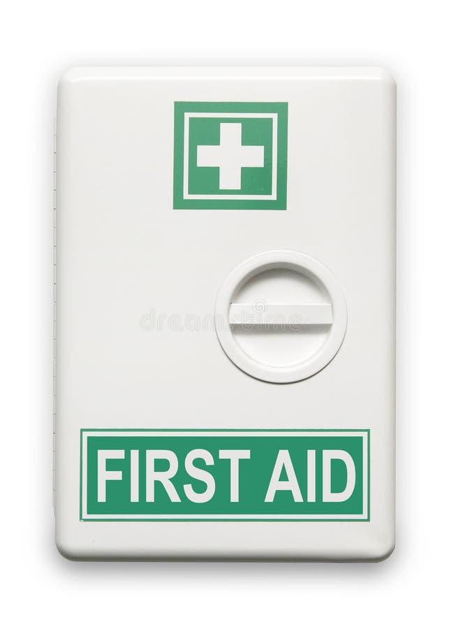 De doos van de eerste hulp stock foto's