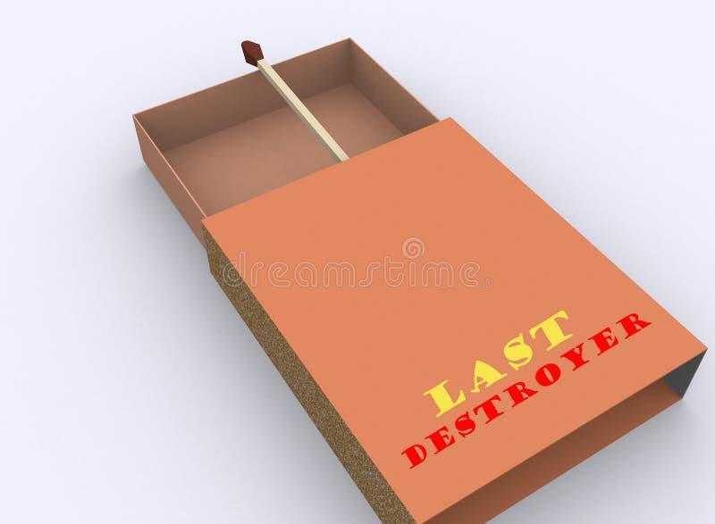 De doos van de gelijke stock illustratie