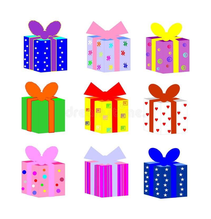 Download De doos van de gift stock illustratie. Illustratie bestaande uit grafisch - 10775259