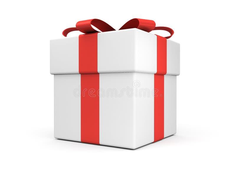 De doos van de gift royalty-vrije illustratie