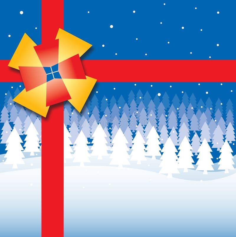 De Doos van de Gift van Kerstmis royalty-vrije stock foto's