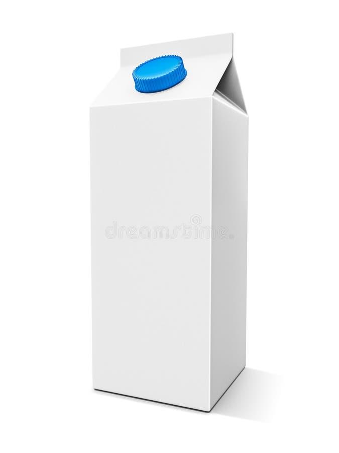 De doos van de melk vector illustratie