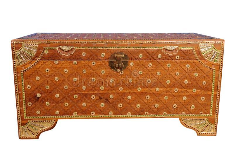De doos van de schat royalty-vrije stock afbeelding