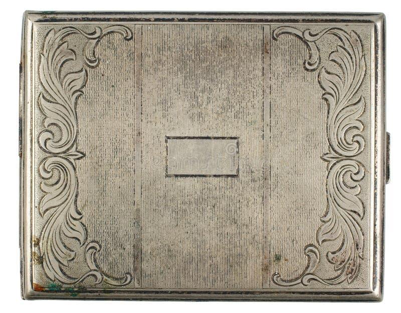 De doos van de sigaret stock afbeeldingen