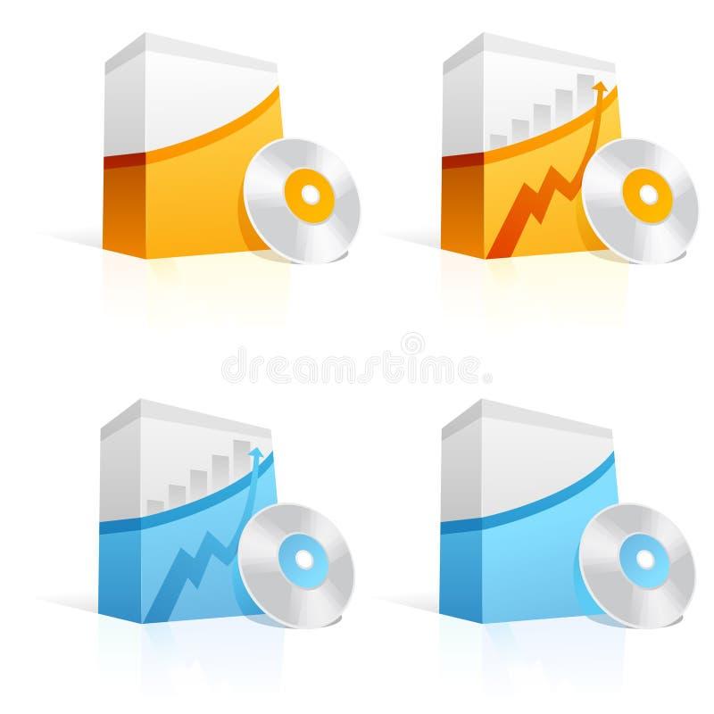 De Doos van de software royalty-vrije illustratie