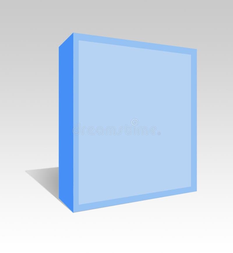 De doos van de software. stock illustratie