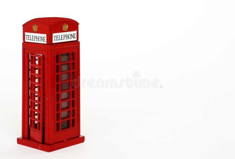De doos van de telefoon royalty-vrije stock afbeeldingen