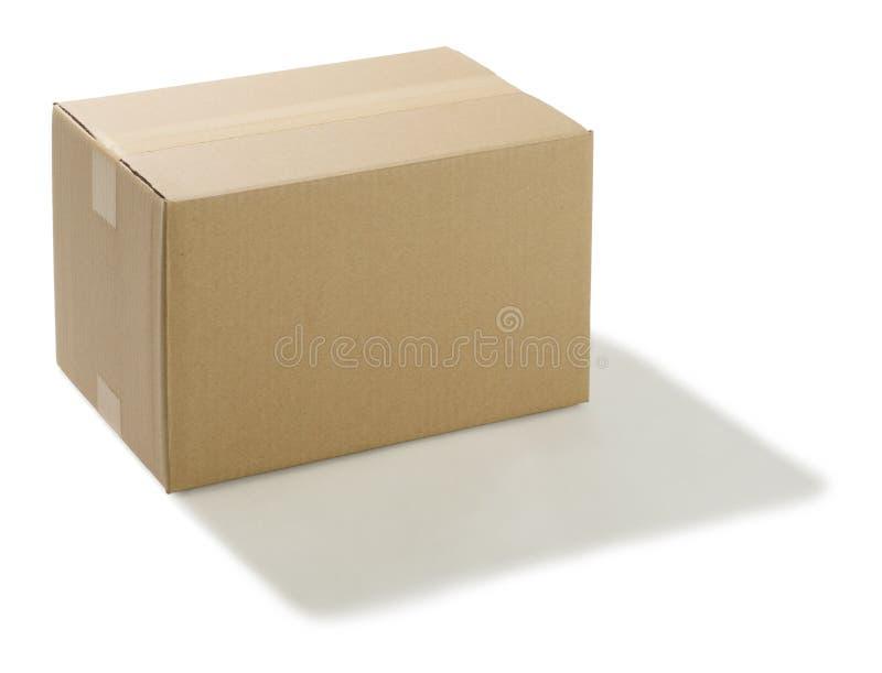 De doos van het karton stock foto