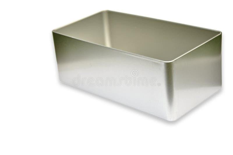 De doos van het metaal royalty-vrije stock foto's