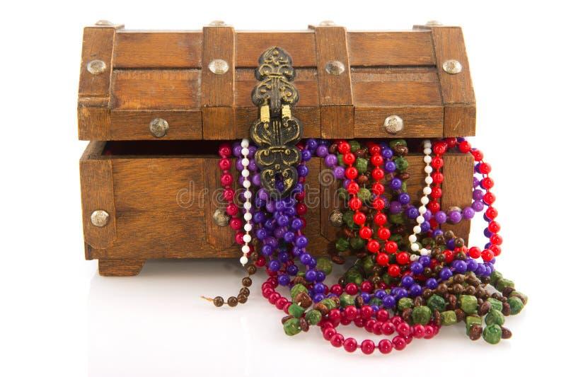 De doos van juwelen stock foto's