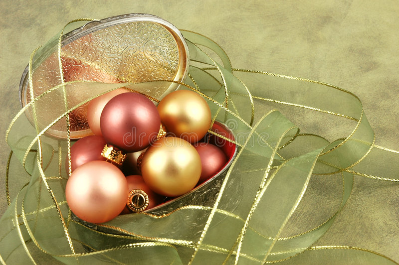 De Doos van Kerstmis stock foto's