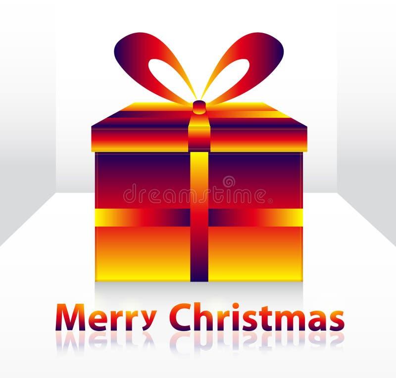 De doos van Kerstmis royalty-vrije illustratie