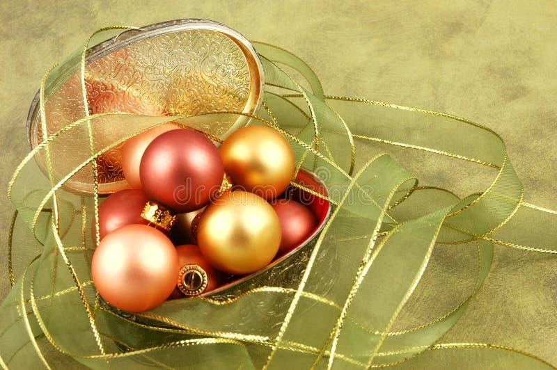 De Doos van Kerstmis stock fotografie