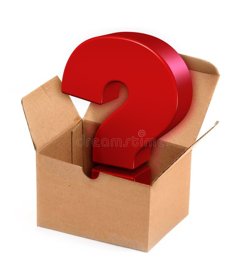 De doos van pandora `s stock illustratie