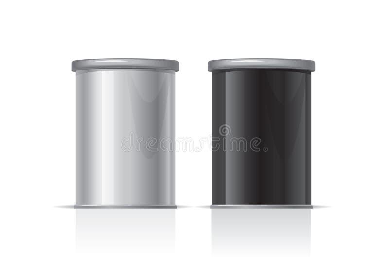 De doos van spaanders stock illustratie