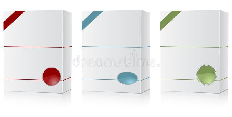 De doosreeks van de software