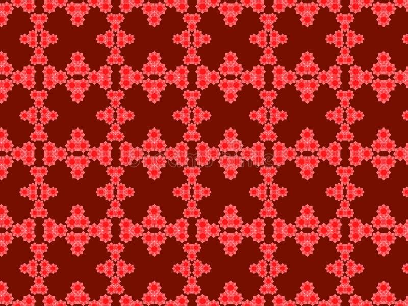 De douane geeft het diverse patroon van de vormen naadloze kleur gestalte stock illustratie
