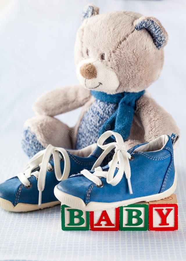 De douche van de baby royalty-vrije stock fotografie