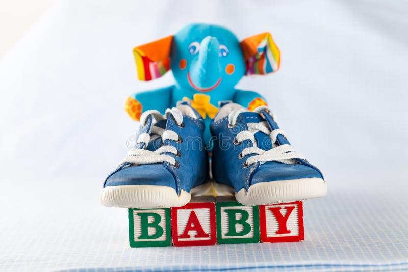 De douche van de baby royalty-vrije stock foto's