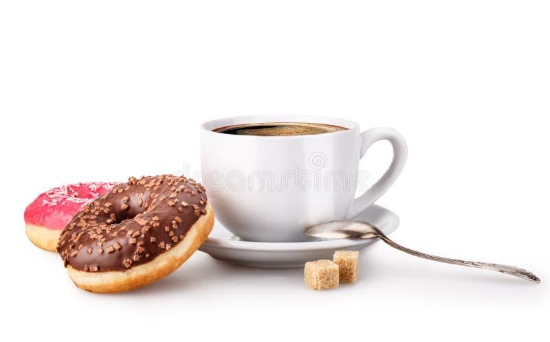De doughnut van de kopsuiker royalty-vrije stock foto