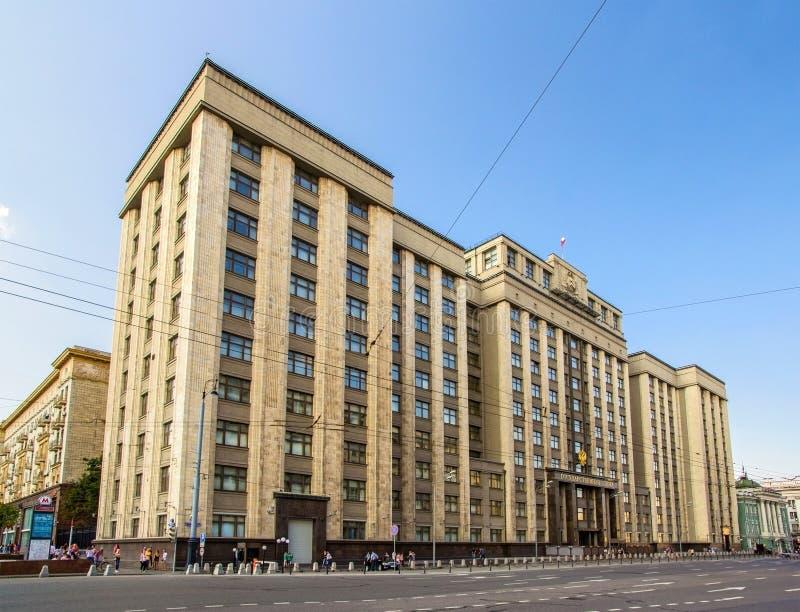 De Douma van de staat van de Russische Federatie royalty-vrije stock afbeeldingen