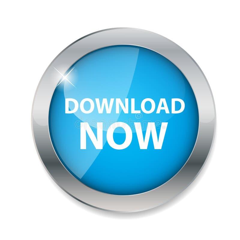 De download knoopt nu vectorillustratie dicht royalty-vrije illustratie