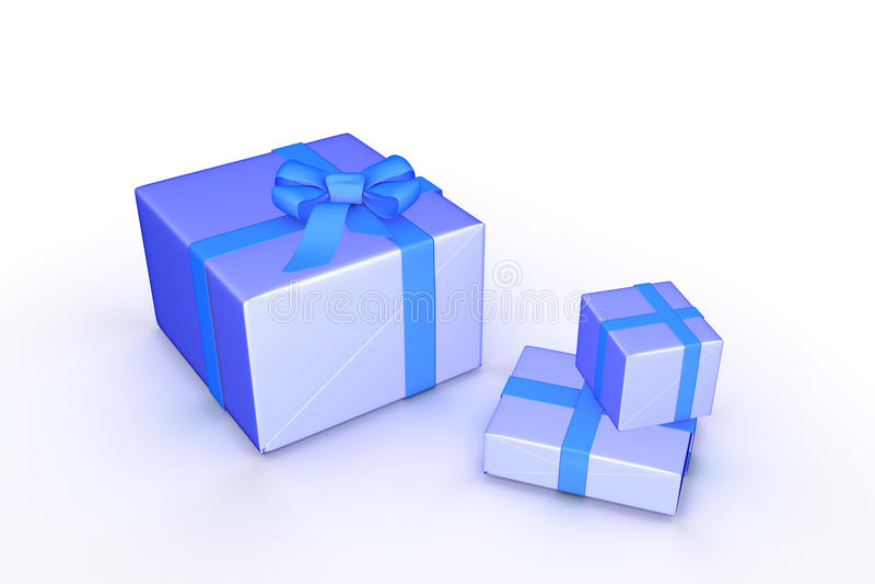De dozen van de gift stock illustratie