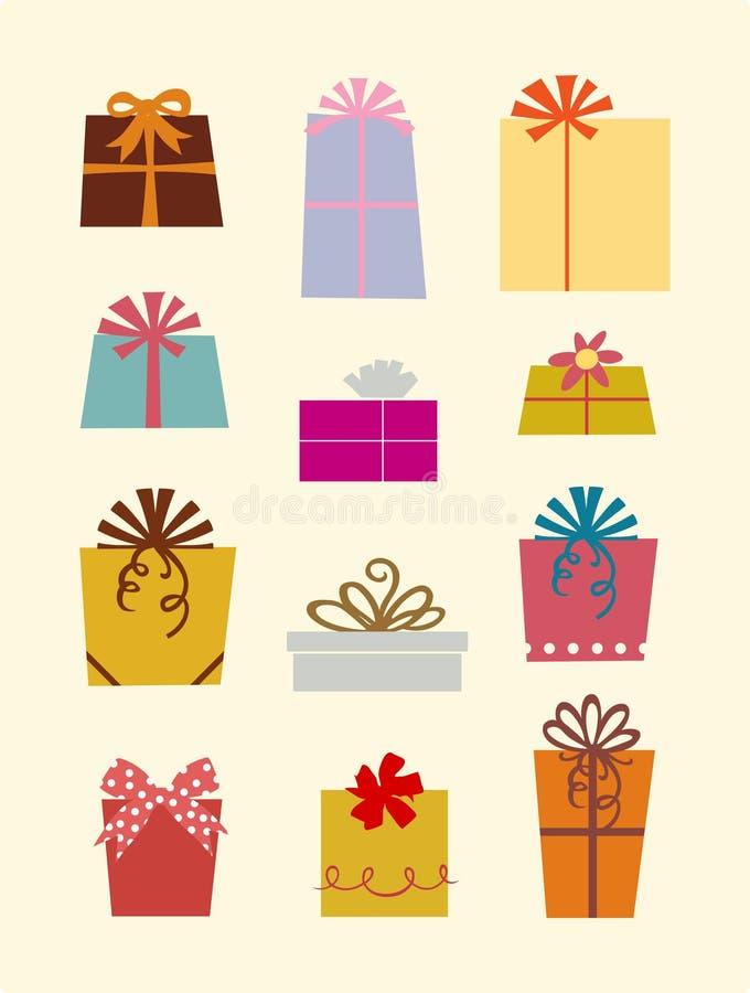 De dozen van de gift royalty-vrije illustratie