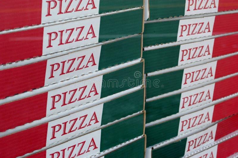 De Dozen van de pizza royalty-vrije stock foto's