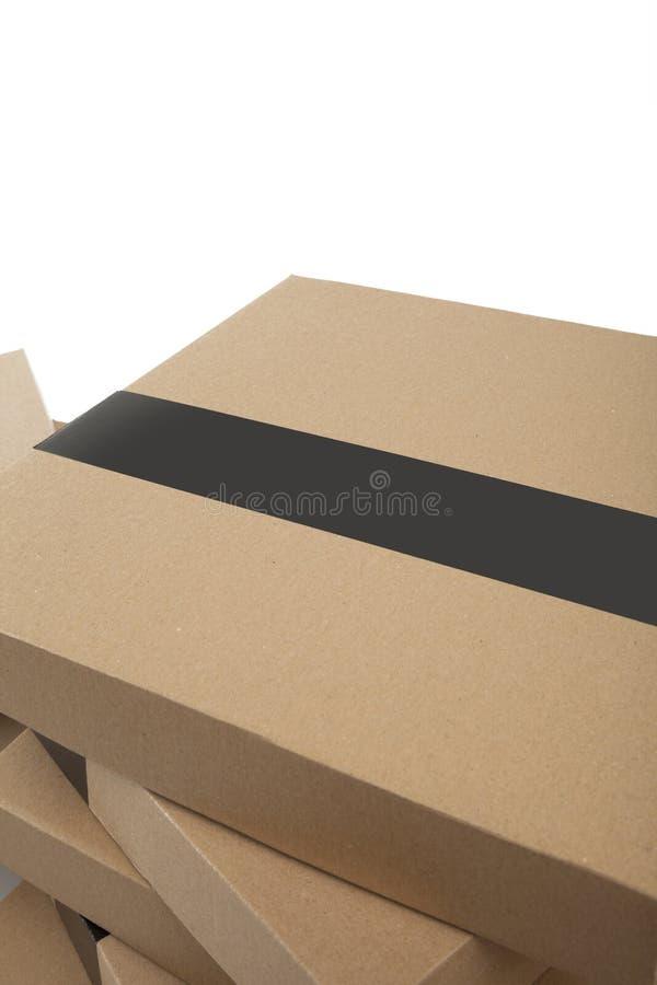 Download De dozen van het karton stock afbeelding. Afbeelding bestaande uit gift - 29508033
