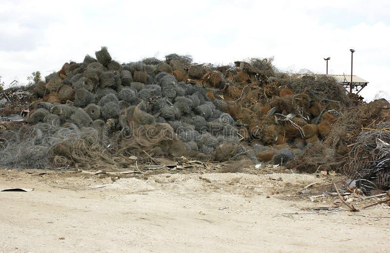 De Draad van het schroot voor Recycling royalty-vrije stock foto's