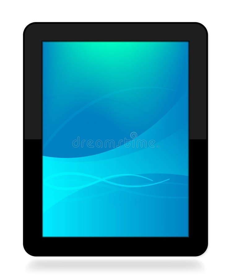 De draagbare Tablet van de Computer vector illustratie