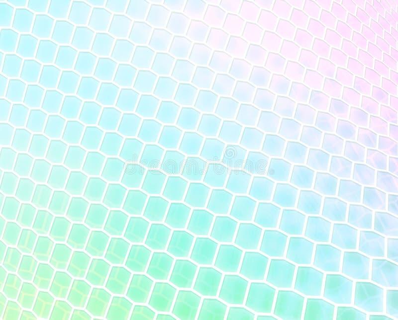 De Draai van de pastelkleur royalty-vrije illustratie
