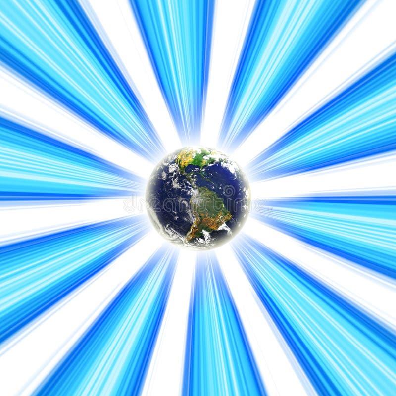 De Draaikolk van de aarde royalty-vrije illustratie