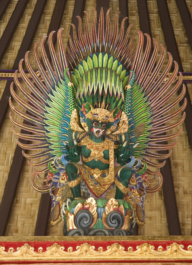 De draak van de tempel royalty-vrije stock afbeelding