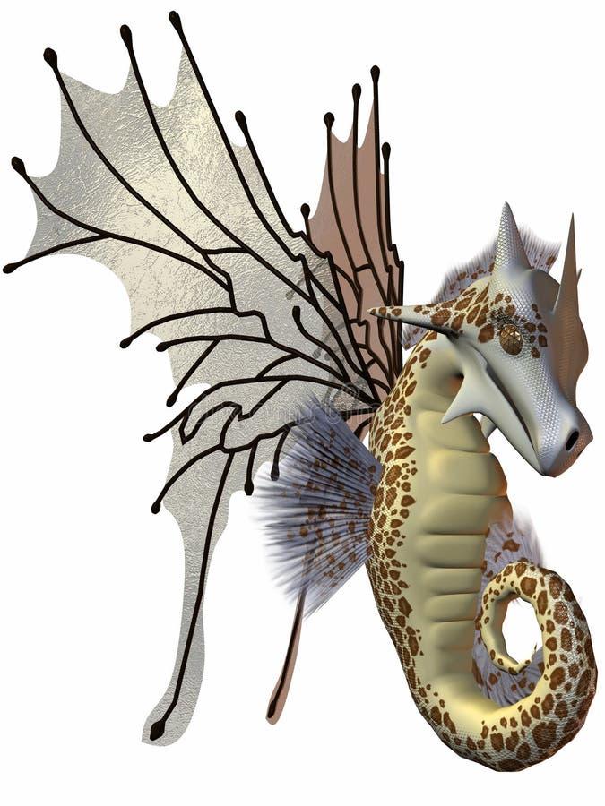 De Draak van Faerie van de fantasie royalty-vrije illustratie