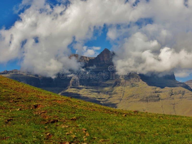 De Drakensberg-Wildernis royalty-vrije stock foto's