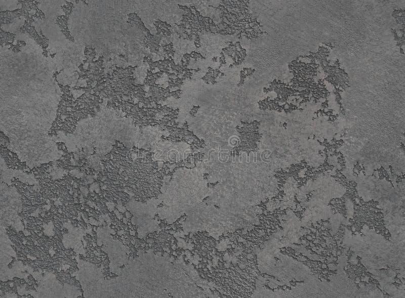 De dramatische grijze textuur van de grunge naadloze steen Zwarte Venetiaanse pleister achtergrond naadloze steen grunge textuur  royalty-vrije stock afbeelding