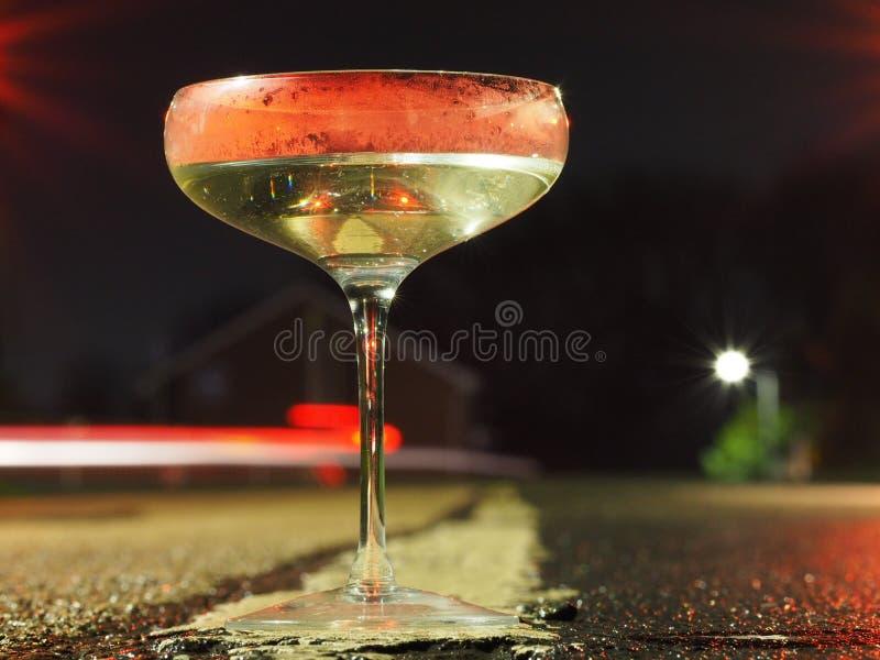 De drank OF de Aandrijving doet allebei niet royalty-vrije stock foto's