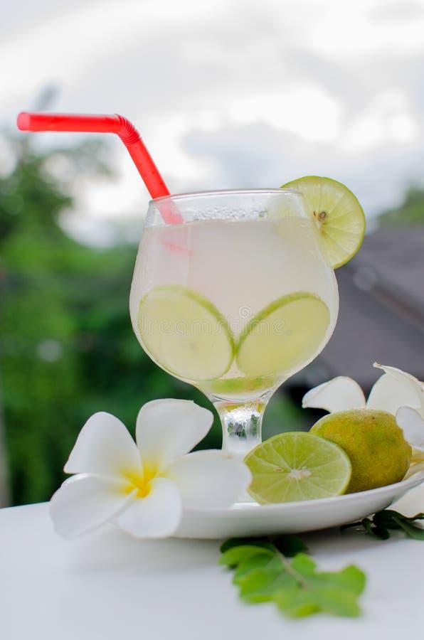De drank van de citroencocktail royalty-vrije stock afbeeldingen