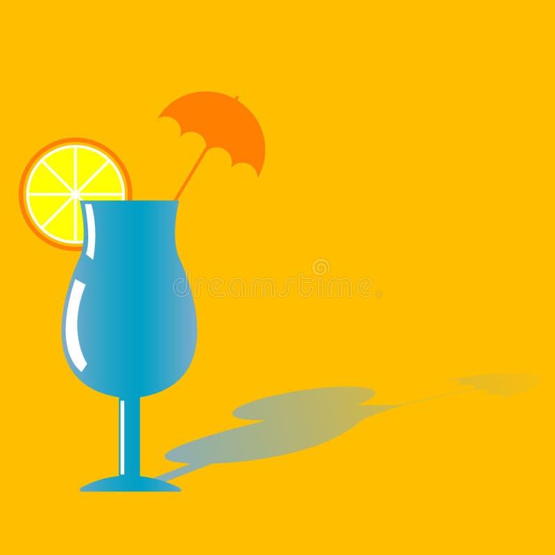 De drank van de cocktail met sinaasappel royalty-vrije stock fotografie