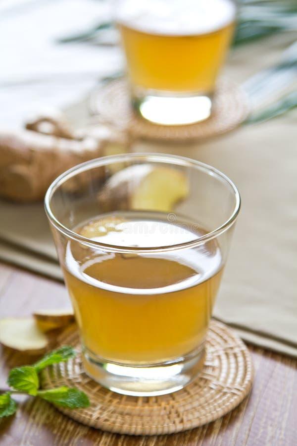 De drank van de gember royalty-vrije stock fotografie