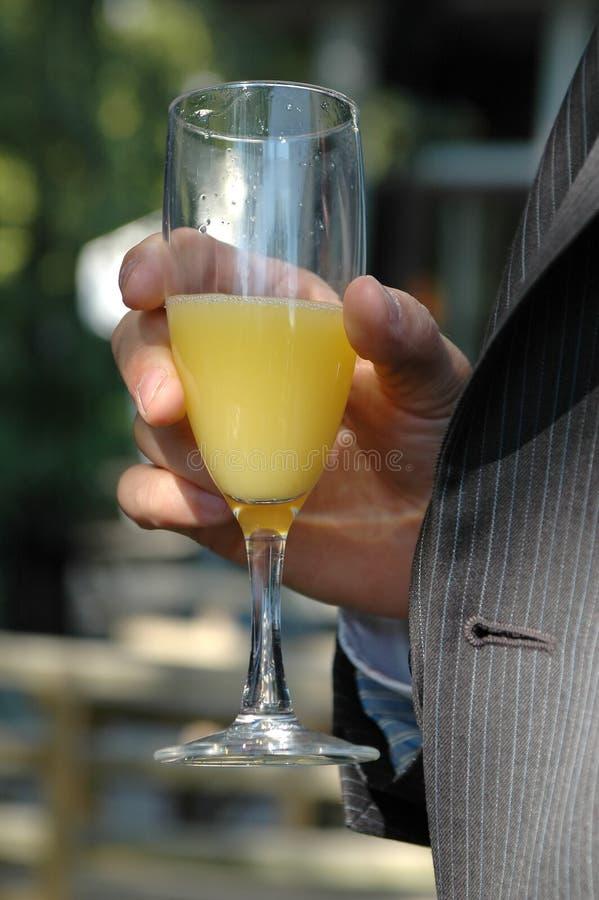 De drank van de viering royalty-vrije stock afbeelding
