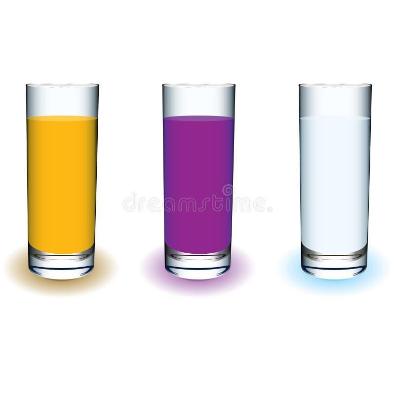 De drank van het fruit royalty-vrije illustratie