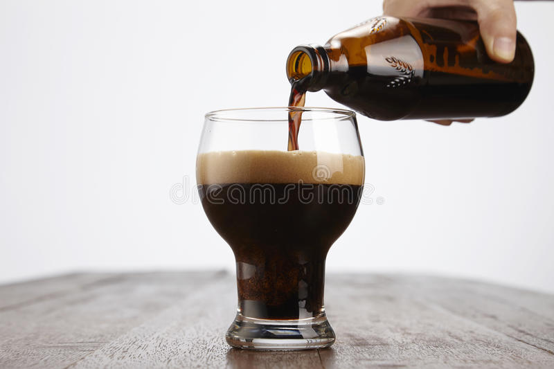 De drank van Malta stock foto's