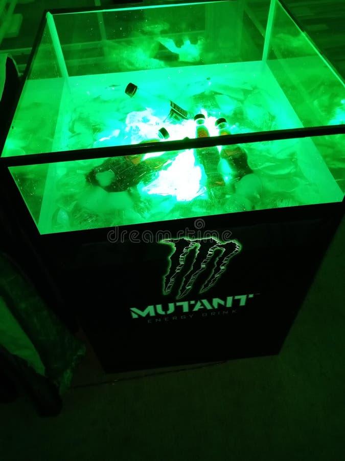 De drank van de mutantenergie stock afbeelding
