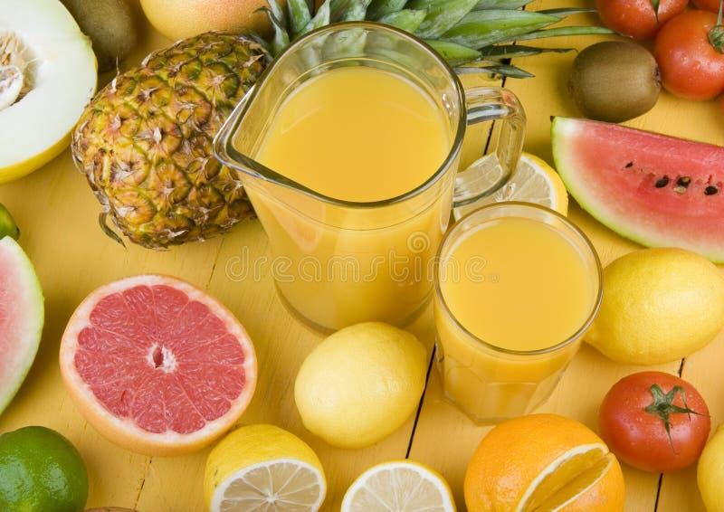 De drank van vruchten royalty-vrije stock foto