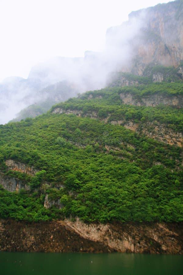 De Drie Kloven van de Yangtze-Rivier stock afbeelding