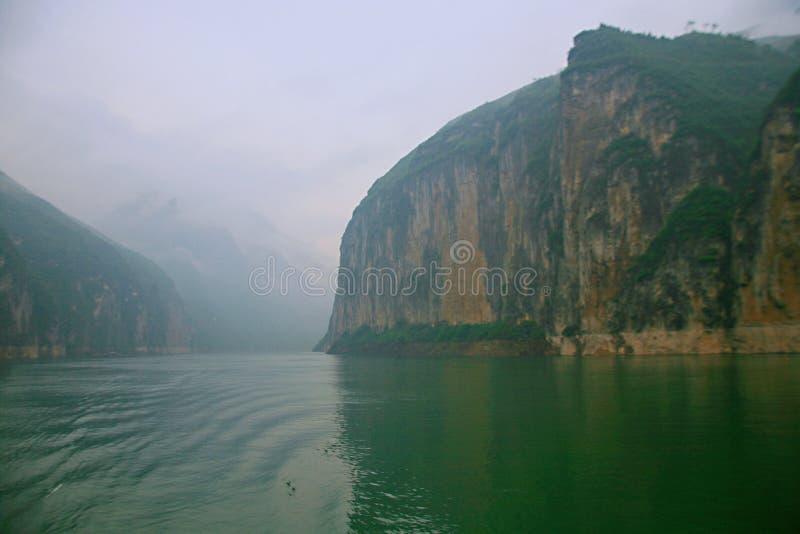 De Drie Kloven van de Yangtze-Rivier stock foto